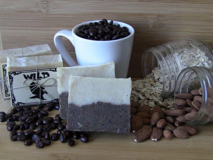 Coffee and Cream Soap, Ingredients