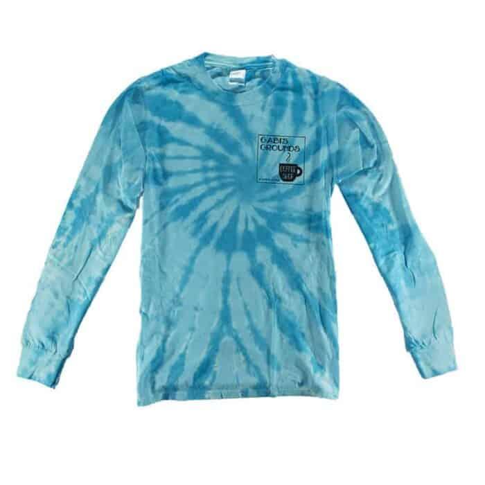 Long Sleeve Aqua Shirt Front