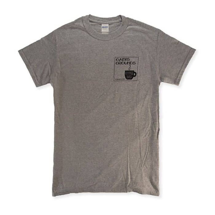 Black/Grey Tee Shirt Front