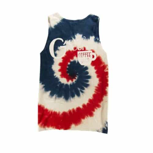 Tie-Dye Tank Top Back