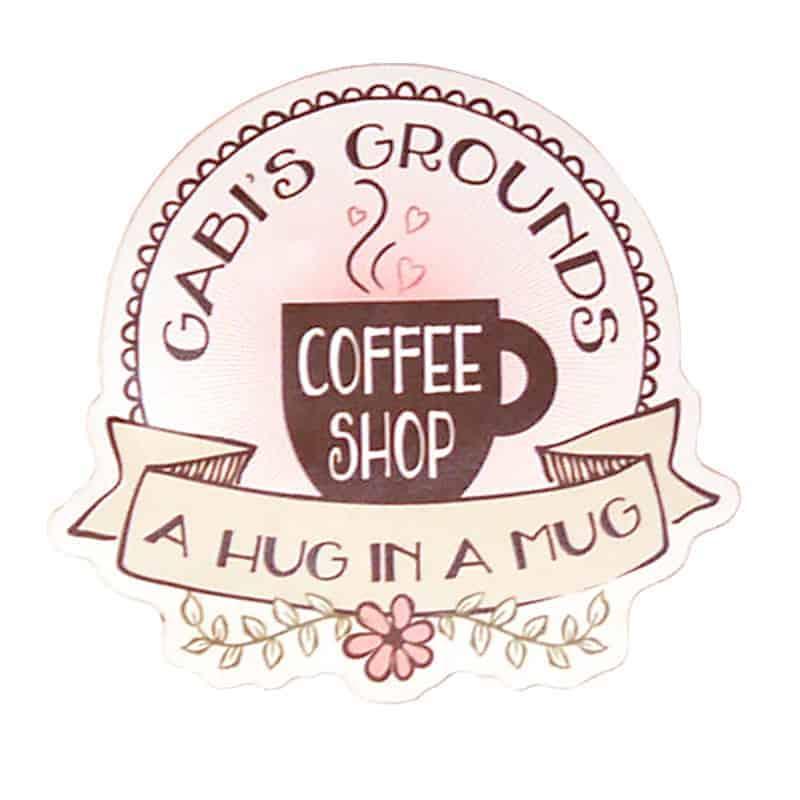 Gabi's Grounds Sticker